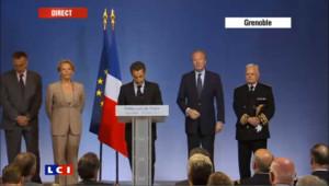 Le discours de Nicolas Sarkozy à Grenoble dans son intégralité