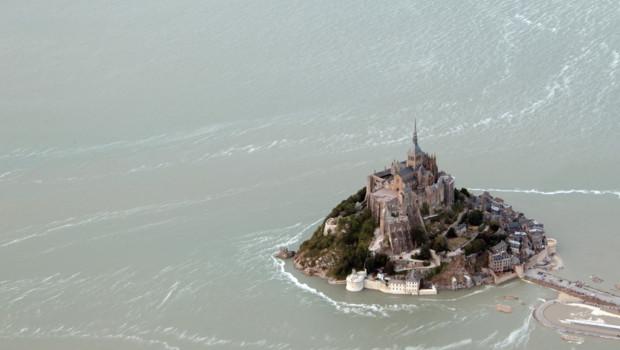 Le Mont-Saint-Michel le 24 juillet 2013.