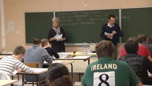 Les candidats au baccalauréat ont entamé lundi 18 juin 2012 les épreuves de philosophie.