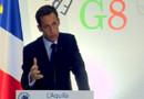 Nicolas Sarkozy G8 L'Aquila