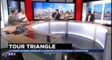 """Paris : """"Perturbante"""" et """"choquante"""", la tour Triangle s'attire déjà les foudres"""