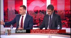 """Interview de François Hollande : """"On est sur un mandat perdu"""""""