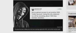 Ku Klux Klan : Anonymous dévoile la liste (06/11)