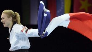 La Française Marlène Harnois a décroché aux Jeux olympiques de Londres le bronze des