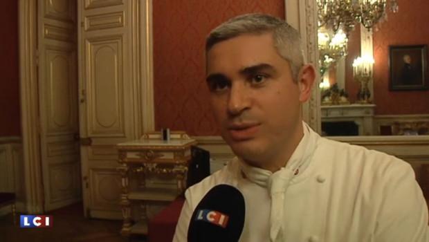 Le chef franco-suisse Benoît Violier