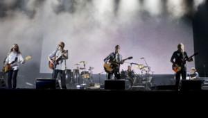 Le groupe Eagles en concert au Stade Louis II à Monaco pour le mariage du Prince Albert et Charlene Wittstock, le 30 juin 2011