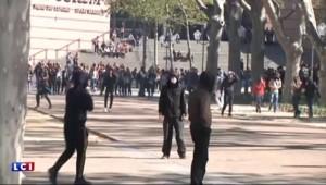 Loi travail: des gaz lacrymogènes à Montpellier pour disperser des lycéens