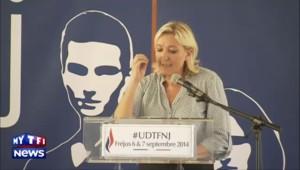 """Marine Le Pen : """"Les sondages nous donnent de l'espoir"""""""