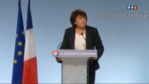 Primaire PS : la dernière de Martine et François