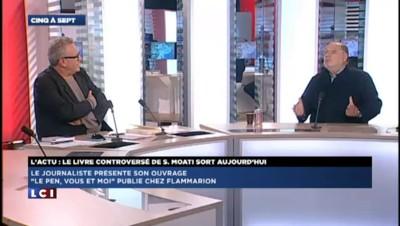 Serge Moati raconte sa relation ambiguë avec Jean-Marie Le Pen