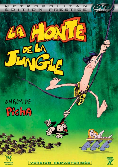 La honte de la jungle affiche
