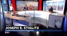Etats-Unis : le Prix Nobel Joseph Stiglitz prêt à conseiller Hillary Clinton ?