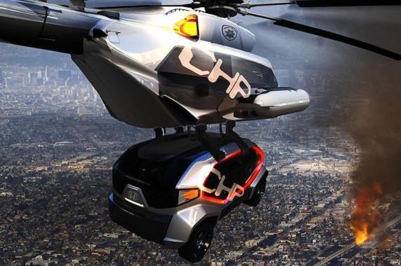LA Design Challenge 2012 - Honda CHP Drone Squad