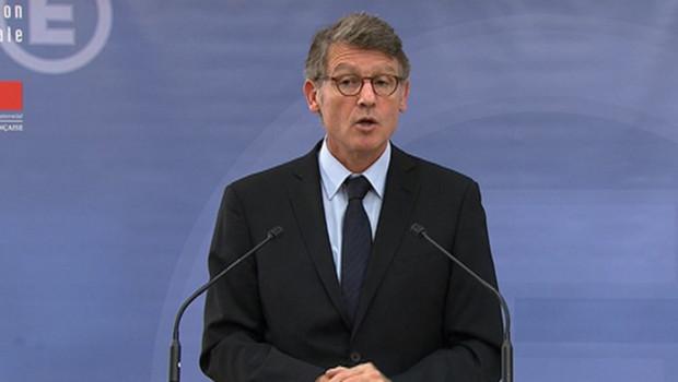 Le ministre de l'Education nationale Vincent Peillon (octobre 2012)