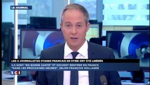 """Libération des otages français en Syrie : """"c'est une nouvelle magnifique"""""""