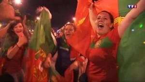 Portugal-France : la liesse des Portugais à Paris