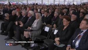 70 ans de la libération du camp de Dachau : Merkel présente avec d'anciens déportés