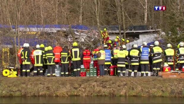 Collision de train en Allemagne : au moins 9 morts et une centaine de blessés