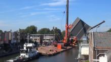 Deux grues de chantier tombent aux Pays-Bas.