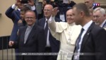 Journées mondiales de la jeunesse : le Pape accueilli par des milliers de croyants