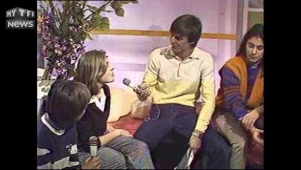 """Moment culte sur TF1. Quand Mathilde Seigner parle de """"La Boum"""" à 14 ans"""