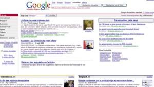 TF1-LCI/DR - La page de garde de Google News Belgique ne possédait plus lundi de contenu de presse belge le 18 septembre, après une déiciosn de justice