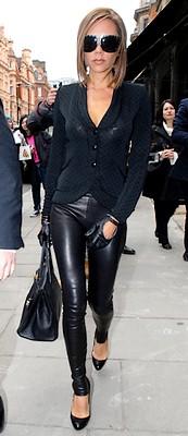 Victoria Beckham : shopping en tregging