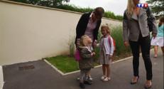 Le 13 heures du 2 septembre 2014 : Premi� rentr�scolaire pour des �ves de maternelle - 70.792