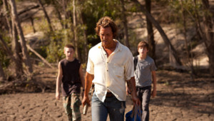 """Matthew McConaughey dans le film """"Mud, sur les rives du Mississippi"""""""
