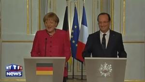 Mitterrand pour Hollande : le lapsus d'Angela Merkel à l'Elysée