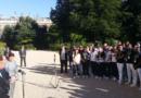 La délégation française reçue par l'Elysée