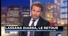 """Lassana Diarra de retour chez les Bleus : """"C'était un objectif en arrivant à l'OM"""""""