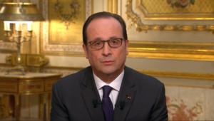 Le 13 heures du 1 janvier 2015 : Les v%u0153ux de François Hollandes aux Français pour 2015 - 688.644