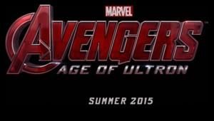 "Le logo du film ""Avengers : Age of Ultron"""