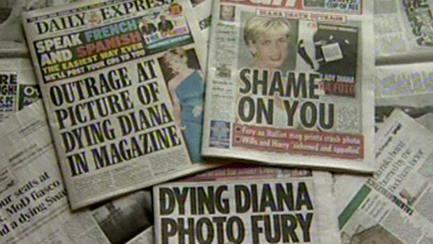 TF1-LCI lady di photo mort presse britannique