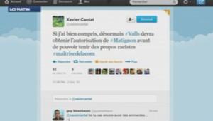 Tweet de Xavier Cantat