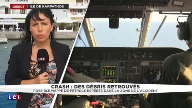 Vol Paris-Le Caire : une nappe de pétrole repérée dans la zone du crash ?