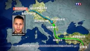 Attentats du 13 novembre : les voyages de Salah Abdeslam avant les attaques