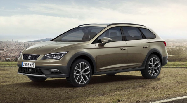 news automoto seat leon x perience 2014 le break compact transform en 4x4 mytf1. Black Bedroom Furniture Sets. Home Design Ideas