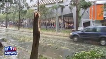 Un violent orage de grêle ravage Brisbane