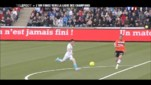Valbuena lors du match Lorient-OM
