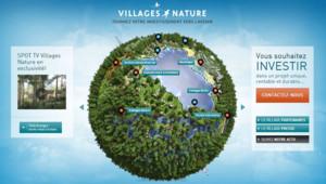 Villages Nature a l'ambition d'être l'un des plus gros sites touristiques de France une dizaine d'années.