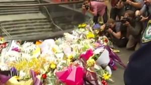 Australie : émotion à Sydney après la prise d'otages, 16/12/14