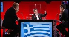 """Dette : """"Il faut remettre de l'argent en circulation en Grèce"""", affirme Mélenchon"""