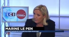 """Conflit ouvert avec Jean-Marie Le Pen : """"Il y a eu un acte de clarification"""" pour Marine Le Pen"""
