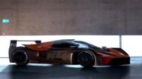 La KTM X-Bow GTR, voiture de compétition conçue pour concourir en GT4 European Series et dans le Pirelli World Challenge.