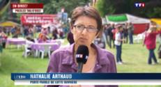 """Le 13 heures du 23 mai 2015 : Nathalie Arthaud : """"Pour les classes populaires, il n'y pas de bout du - 722"""