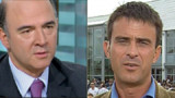 Valls et Moscovici grimpent dans l'estime des militants