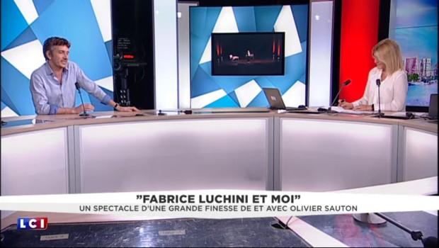 """""""Fabrice Luchini et moi"""" : une déclaration d'amour au théâtre"""