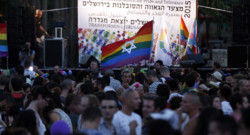 Gay Pride de Jérusalem le 30 juillet 2015